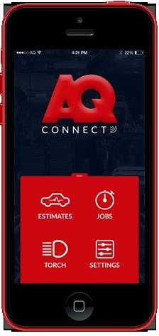 AQConnect App Dashboard