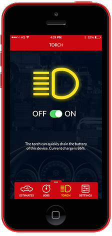 AQConnect App Torch