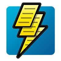 Lightning Payroll Download Icon